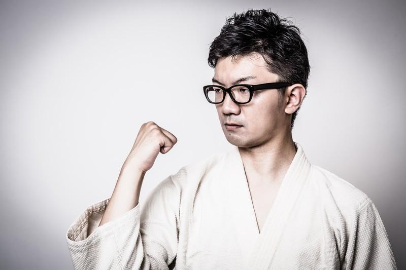 格闘技を習う発達障害当事者の男性