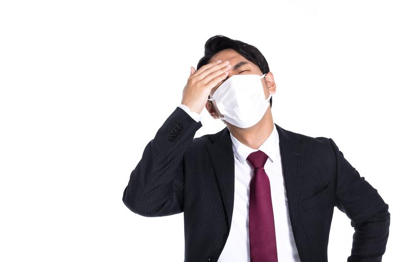 新型肺炎に苦しむ発達障害当事者の男性