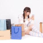 買い物依存症の女性