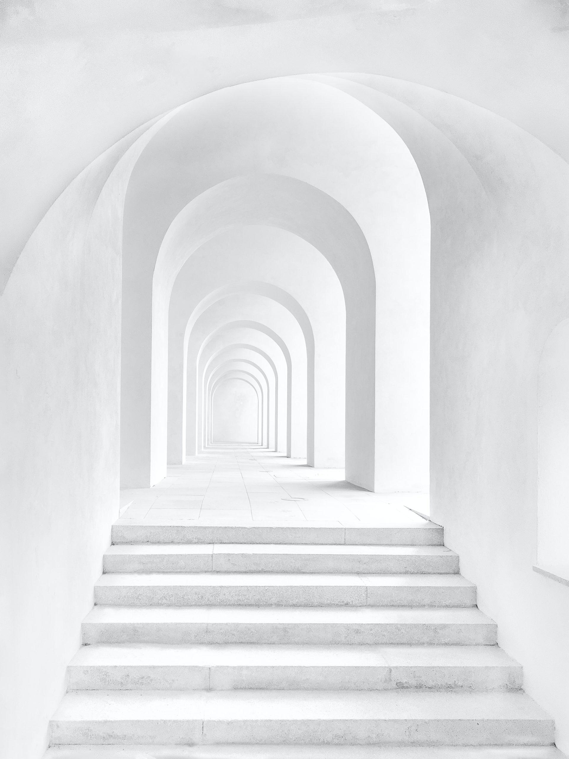 歩行瞑想のイメージ