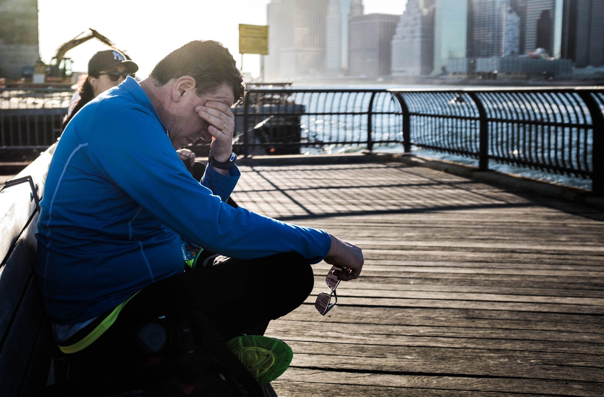 疲れに悩む発達障害の男性